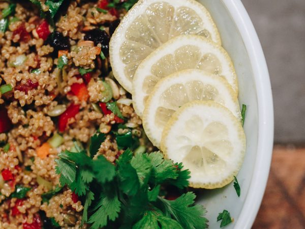 The Sown Life-Curried Quinoa Salad-Recipe
