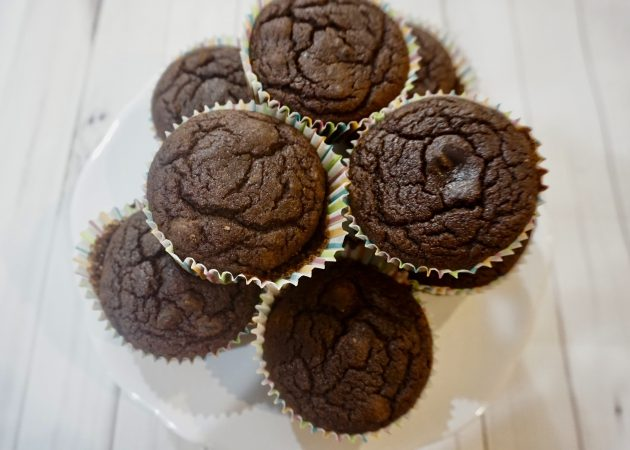 Grain-free Double Chocolate Peanut Butter Muffins