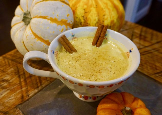 Pumpkin Spice Golden Milk Latte
