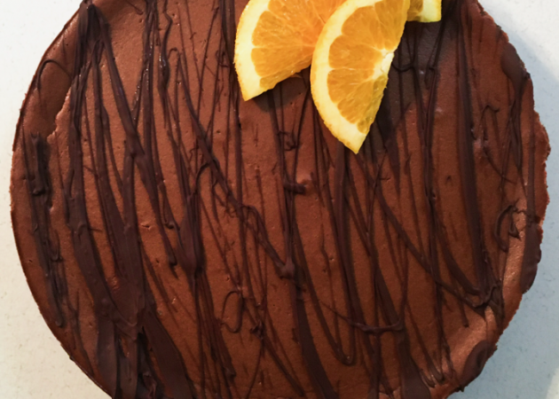 Gluten-free Chocolate Orange Cheesecake