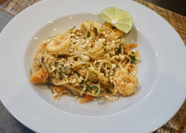 Madelyn's Shrimp Pad Thai